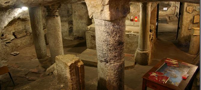 A Sant'Antioco les seules catacombes de l'ile