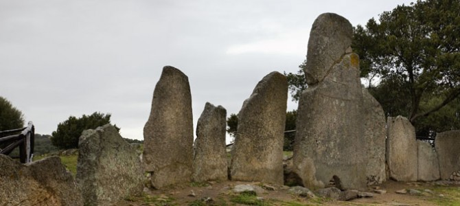 The menhirs in the other territories of Sardinia