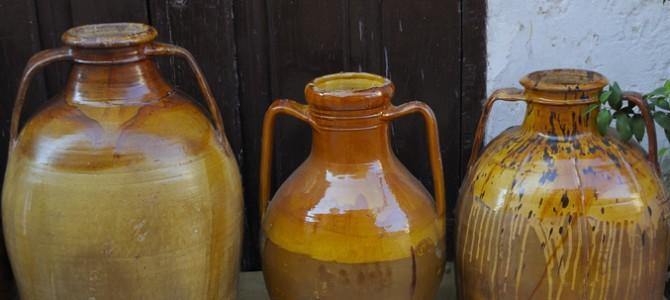 The original overlapping amphorae made in Siniscola
