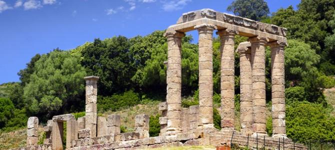 Dans le Temple de Antas on adorait la divinité de Sardus Pater Babai