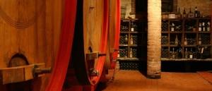 Sardinia wine cellar