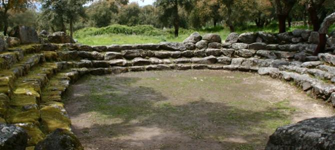 Les rites sacrés dans le sanctuaire de Romanzesu