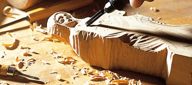 Gli antichi mestieri  del falegname  e dell'intagliatore