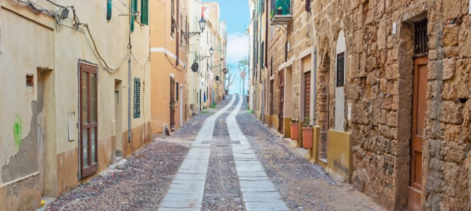 The old town center is the authentic jewel of Alghero