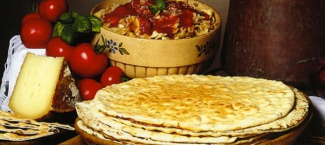 Il pane di Ozieri, sfoglie di farina simili alla spianata