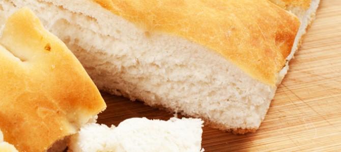 Le pain de Perdaxius, une focaccia croustillante