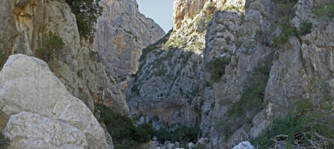 La gola di Su Gorroppu, considerata il Grand Canyon d'Europa