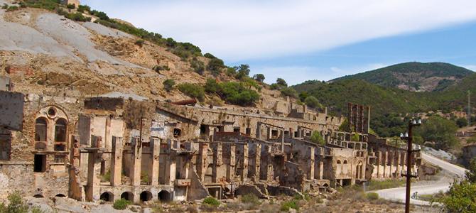 Miniera di Ingurtosu, nata a metà del 1800