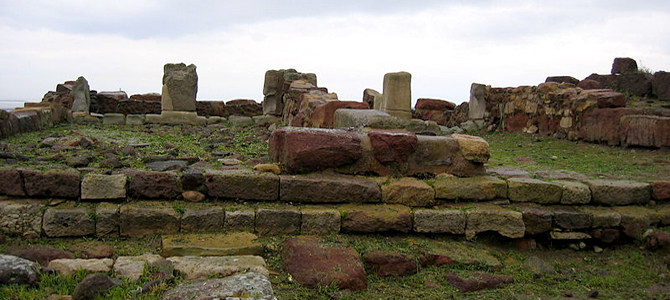 Area archeologica di Monte Sirai