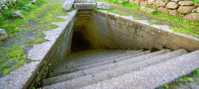 Pozzo di Santa Cristina, esempio di architettura nuragica