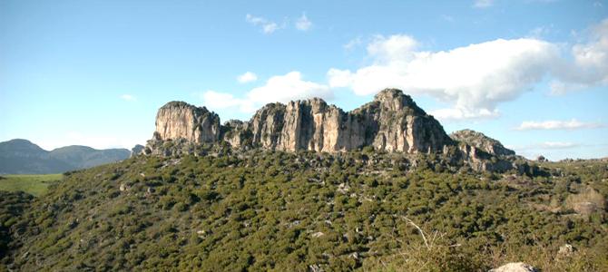 Il Monte Corongiu, il più importante tacco d'Ogliastra