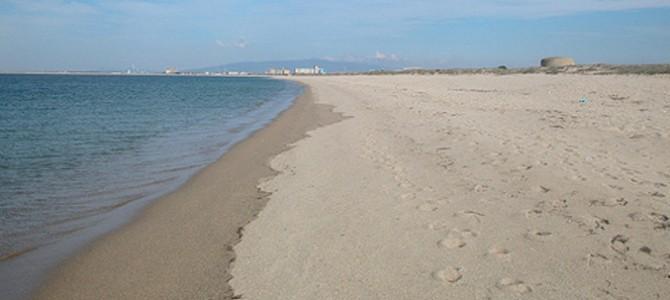 Spiaggia della Marina d'Arborea (Arborea, provincia di Oristano)