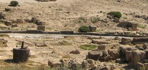 Antiche rovine di città scomparse
