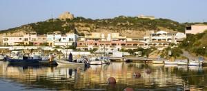 Vista del porto di Santa teresa di gallura