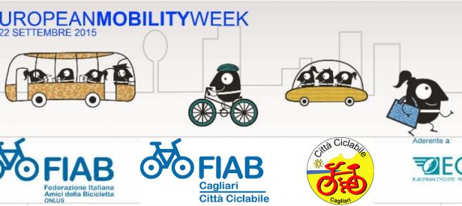 Settimana Europea della Mobilità…in bicicletta, dal 16 al 22 settembre 2015